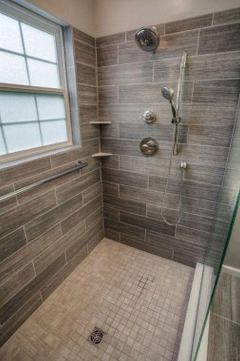 40 Tile Design Trends Forecast 2017: 40 Beautiful Bathroom Shower Ideas #bathroomideas