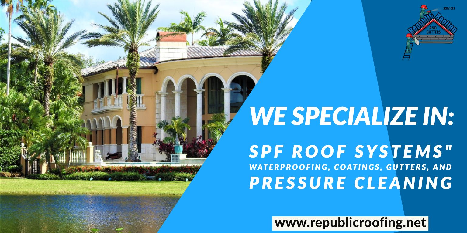 Roofing In South Florida Roofing Commercial Roofing Roofing Systems
