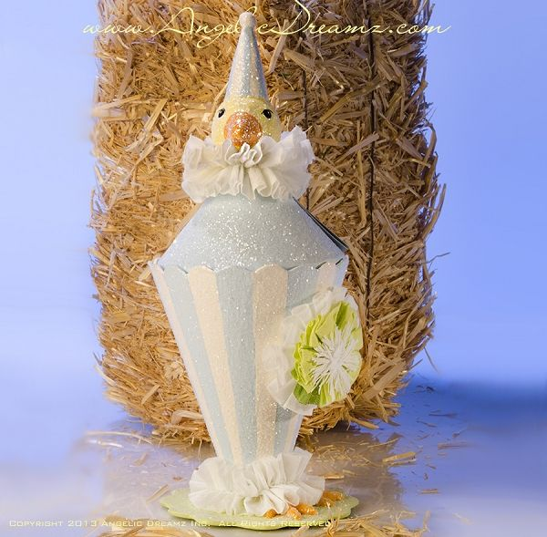 Bethany Lowe Designs Easter 2013, Chick Parfait Container