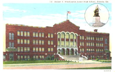 Booker T Washington High School. MLK Jr graduated from here. One of the only high schools in the south to award black graduates diplomas.