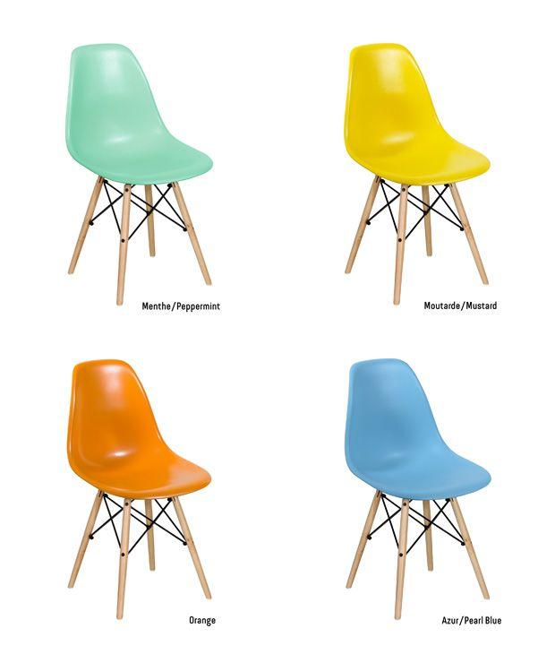 1000+ ideer om chaise eames pas cher på pinterest | chaise pliante ... - Chaises Eames Dsw Pas Cher