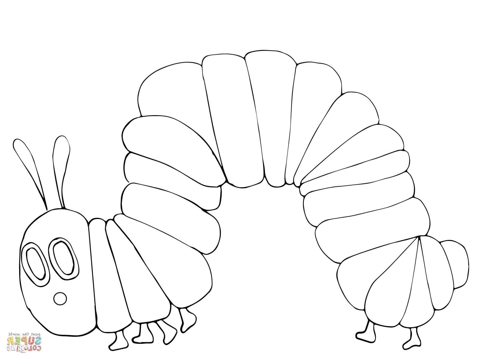 - Hungry Caterpillar Coloring Pages Hungry Caterpillar Butterfly