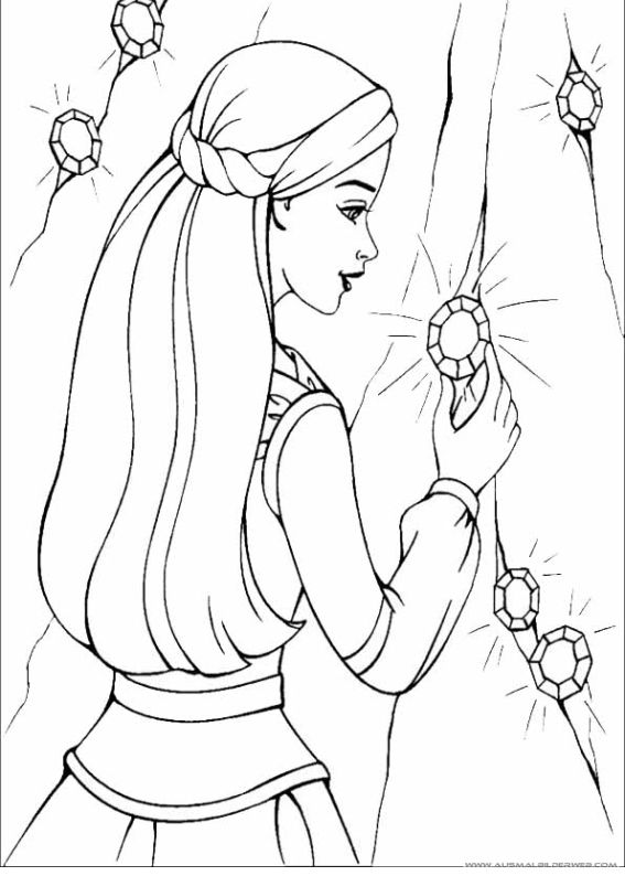 Barbie And The Magic Of Pegasus Photo MoP Coloring Page