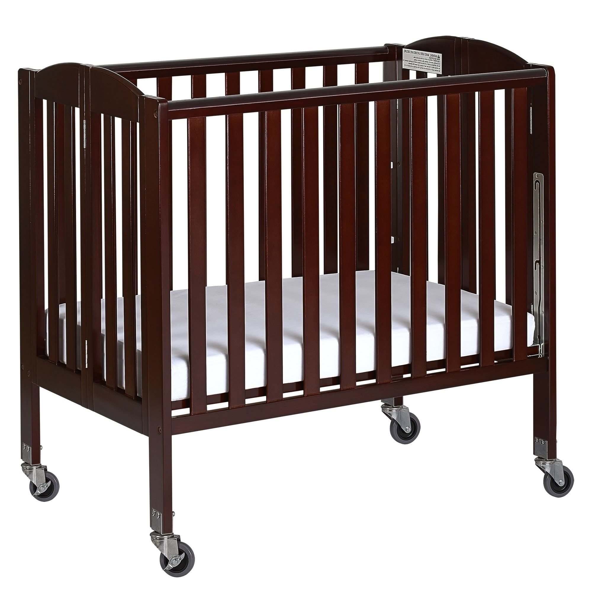 Dream On Me 3 In 1 Folding Portable Crib Assembly Required Brown Products In 2019 Portable Crib Cribs Mini Crib