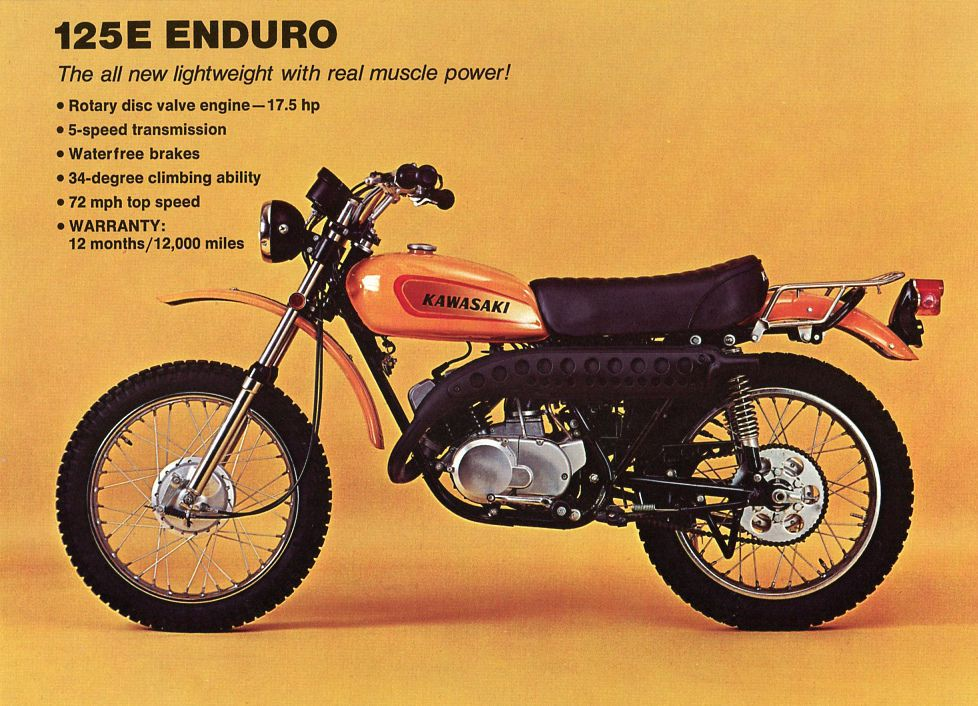 1971 Honda 125 motorcycle Vintage Advertisement Print Ad