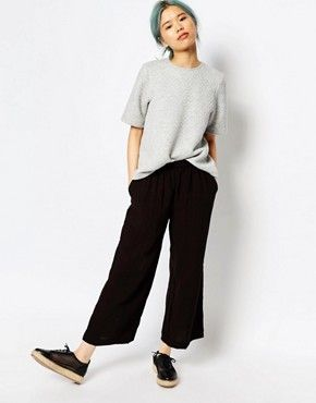 Monki Wide Leg Trouser