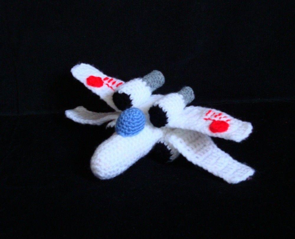 Amigurumi Pattern - Star Wars X Wing - Crochet Pattern | Raumschiff ...