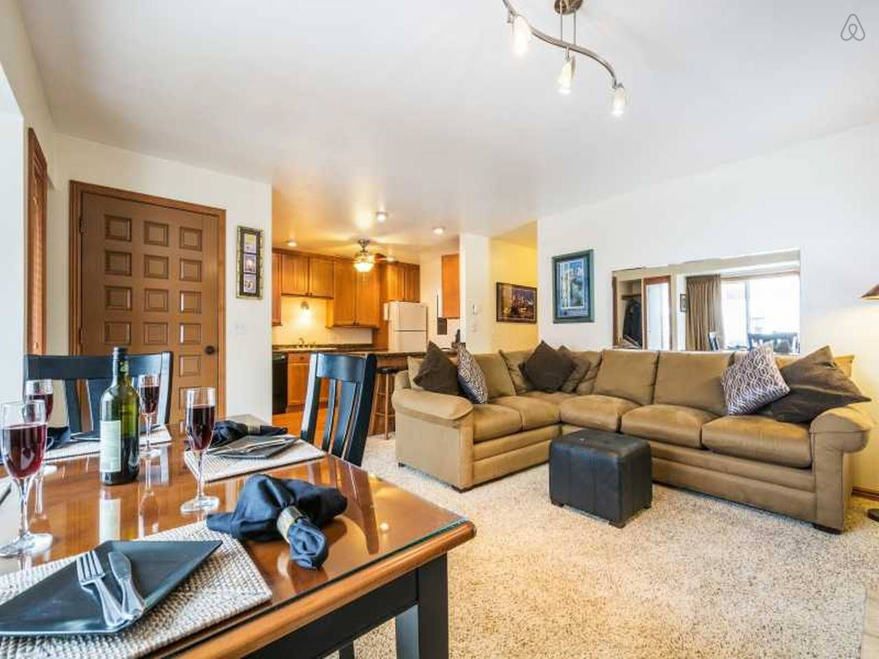 2 br across from Canyons. Views! - vacation rental in Park ...