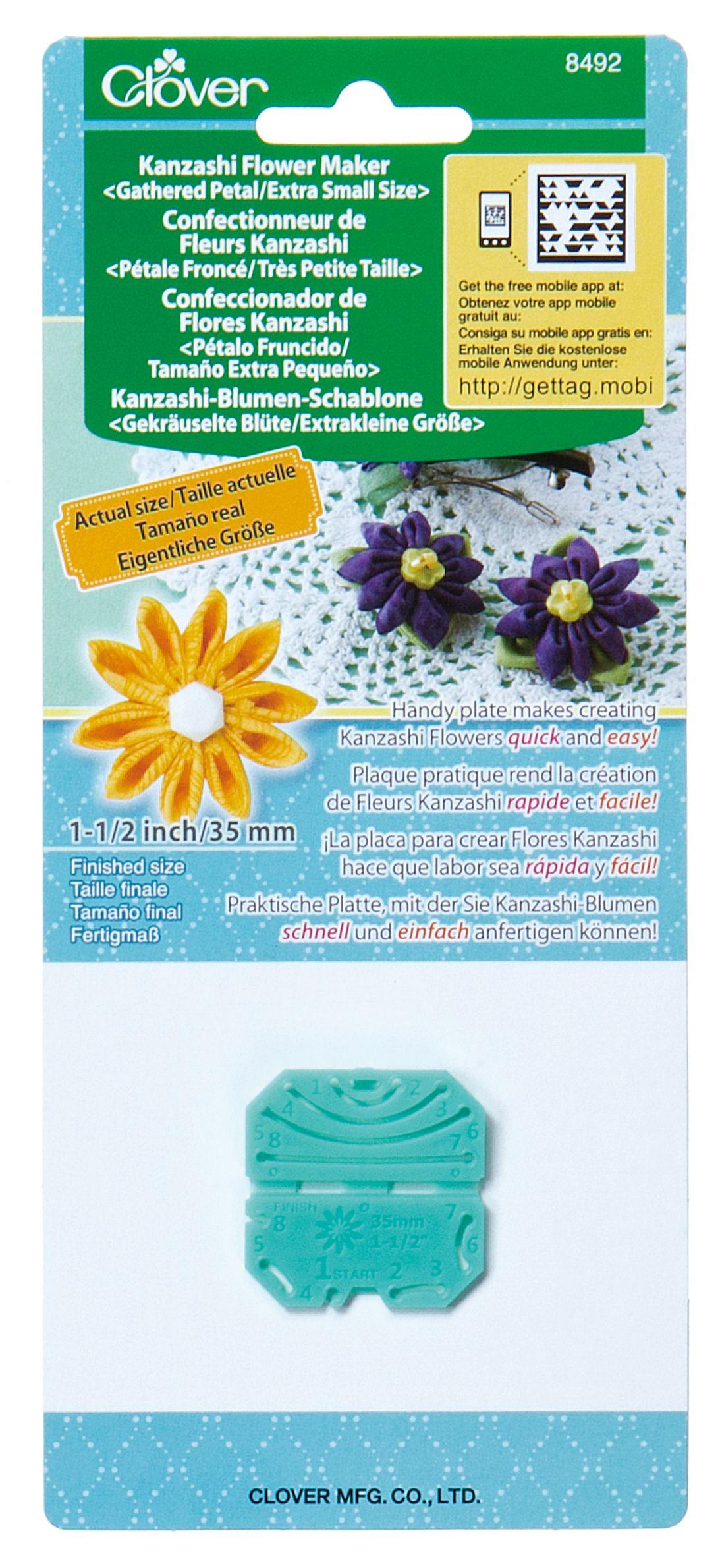 Clover Large Orchid Petal Kanzashi Flower Maker Pk For Crafts Flower Making Tool