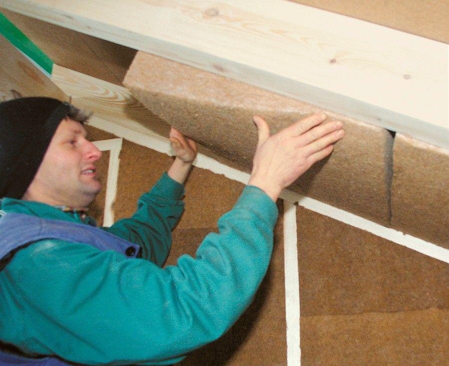100 Mm Steico Flex Wood Fibre Insulation Board Insulation Passive House Loft Insulation