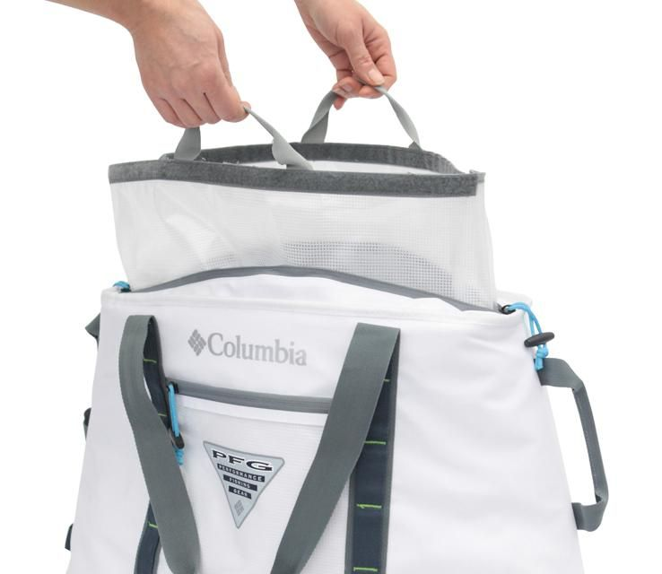 Columbia 50 Can Fisherman S Ultimate Thermal Cooler Tote