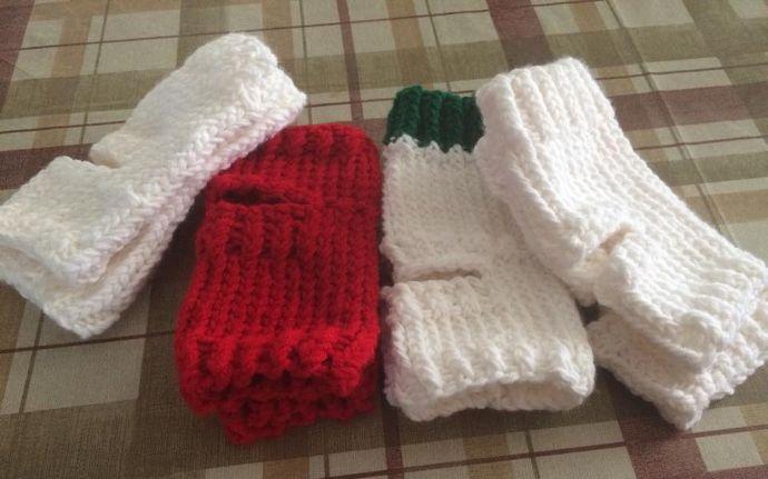 Calcetines calentadores para yoga tejidos en telar por Linda | Yoga ...