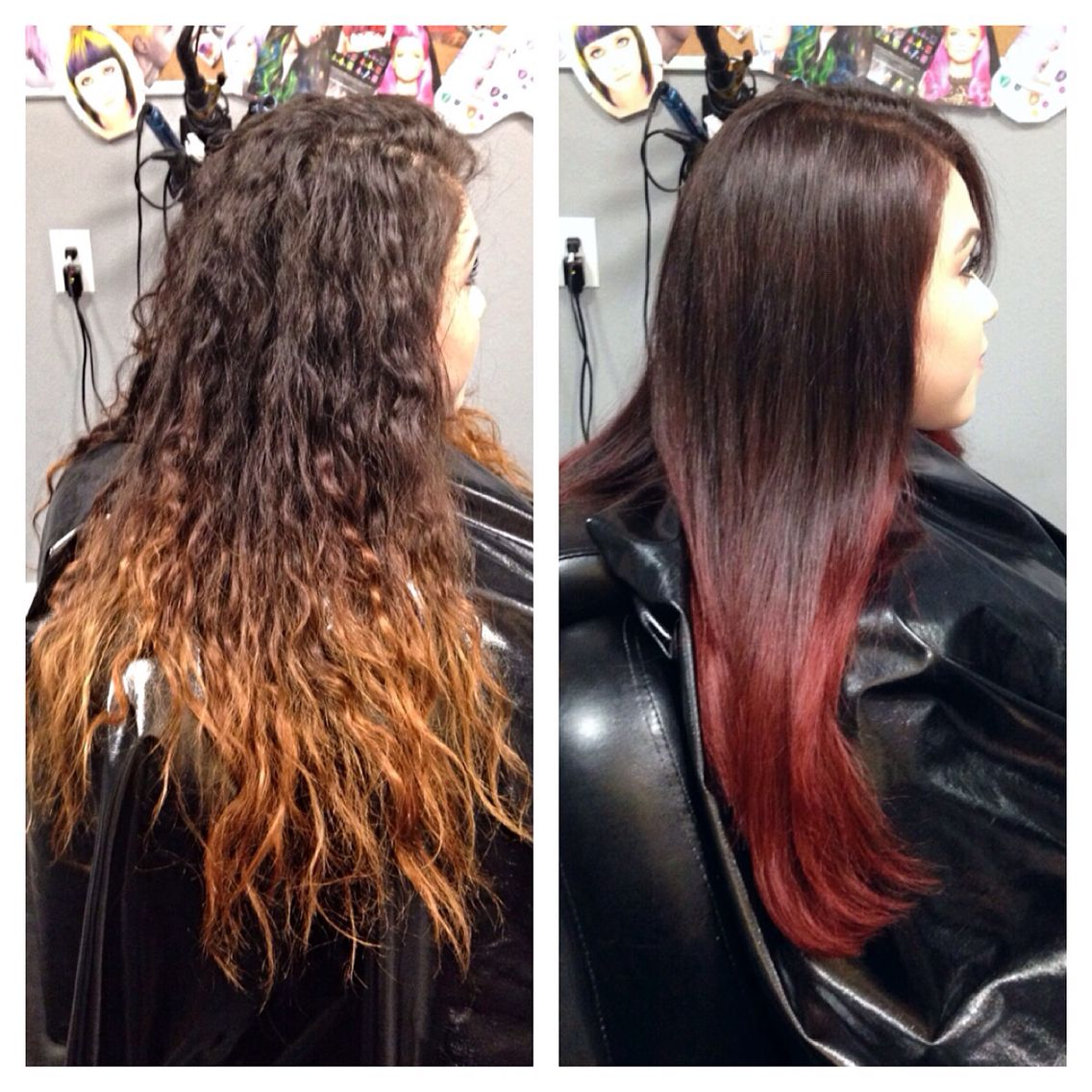 Wella relights red ombr hair vivid hair design pinterest wella relights red ombr hair nvjuhfo Choice Image