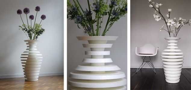 25 best ideas about atypical flower vase on pinterest creative uxui designer and vases - Vase Design Ideas