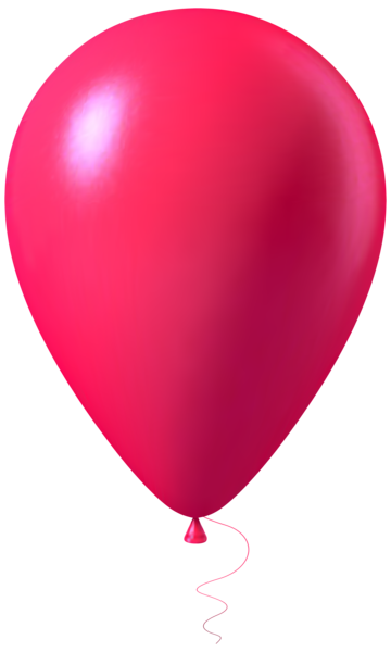 Pink Balloon Transparent Png Image Pink Balloons Balloons Birthday Clips