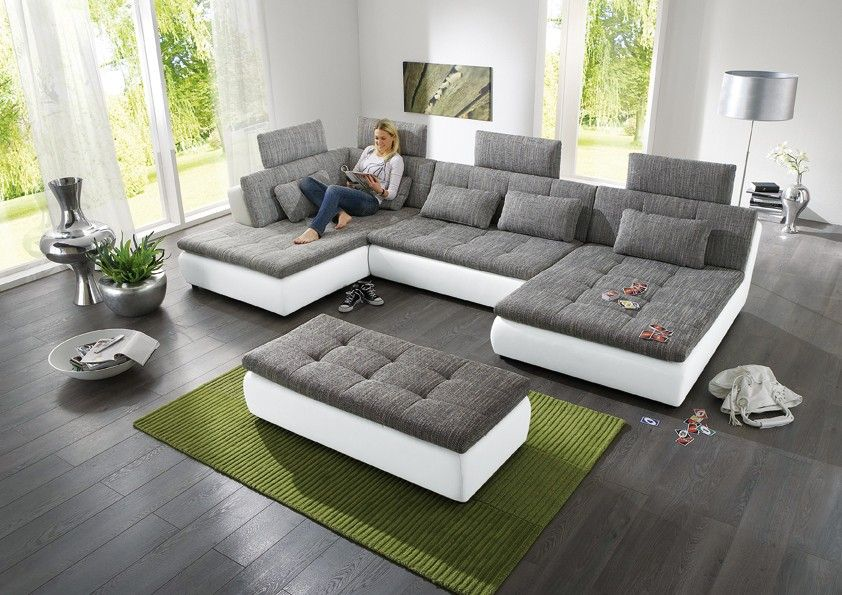 Xxl halbrunde sofa bett google search house ideas pinterest Big sofa xxl wohnlandschaft