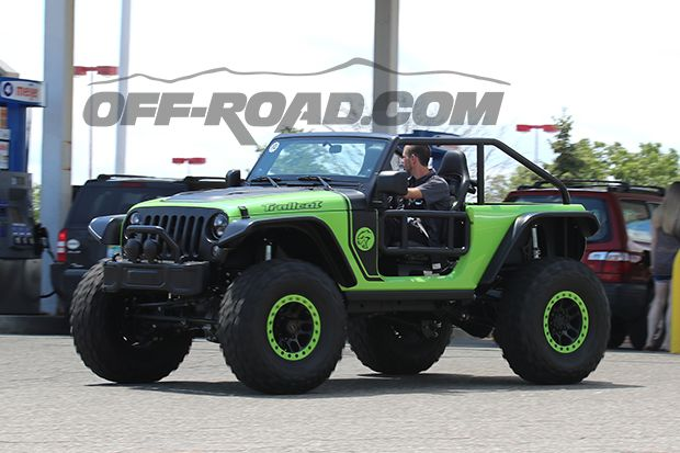 Why Is The Hellcat Powered Jeep Wrangler Trailcat Prowling The