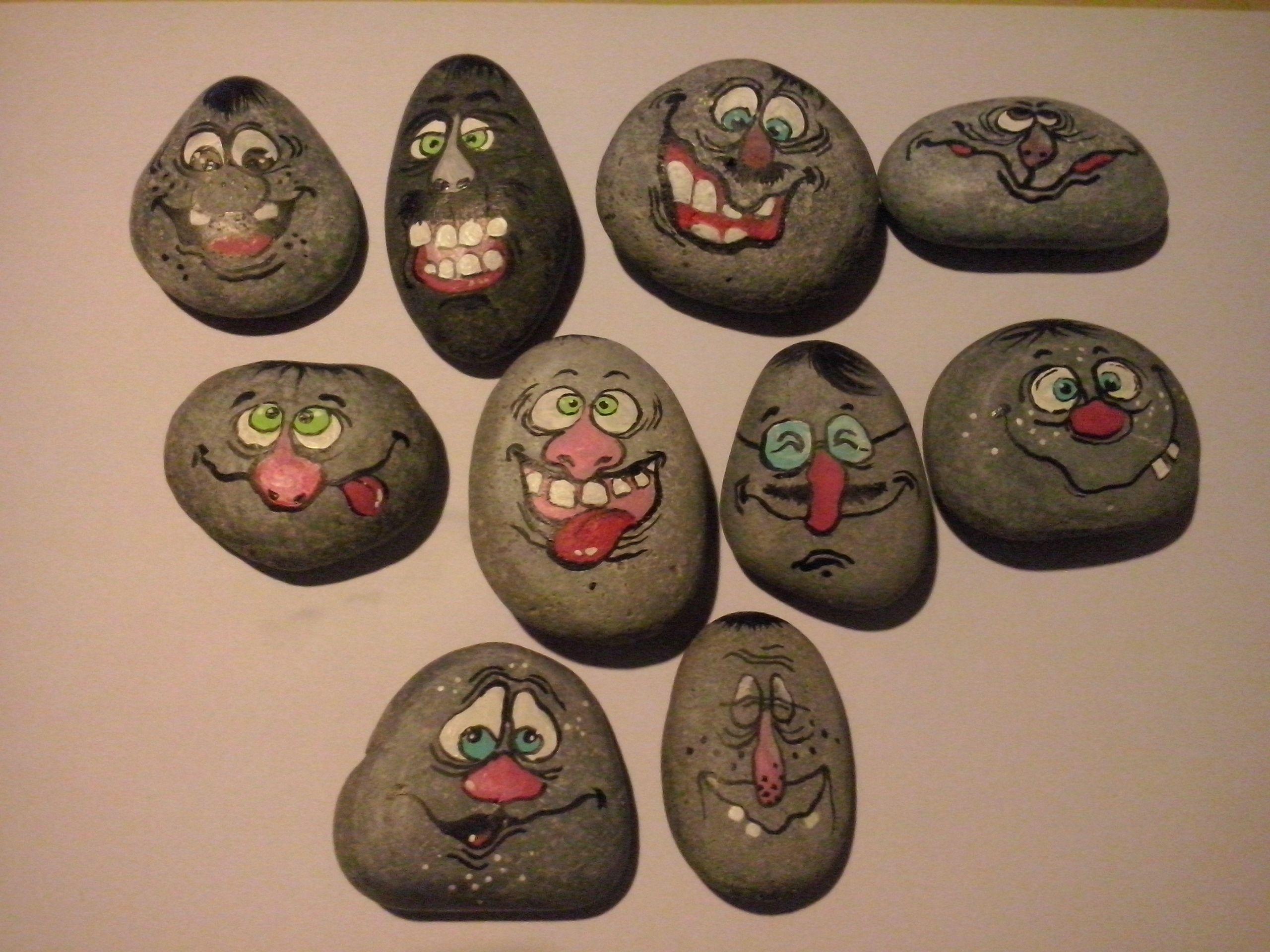 Xichtíky z kamínků