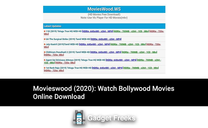 Movieswood 2020 Top 10 Best Similar Sites Download Free Movies Online Streaming Movies Free Top Rated Movies