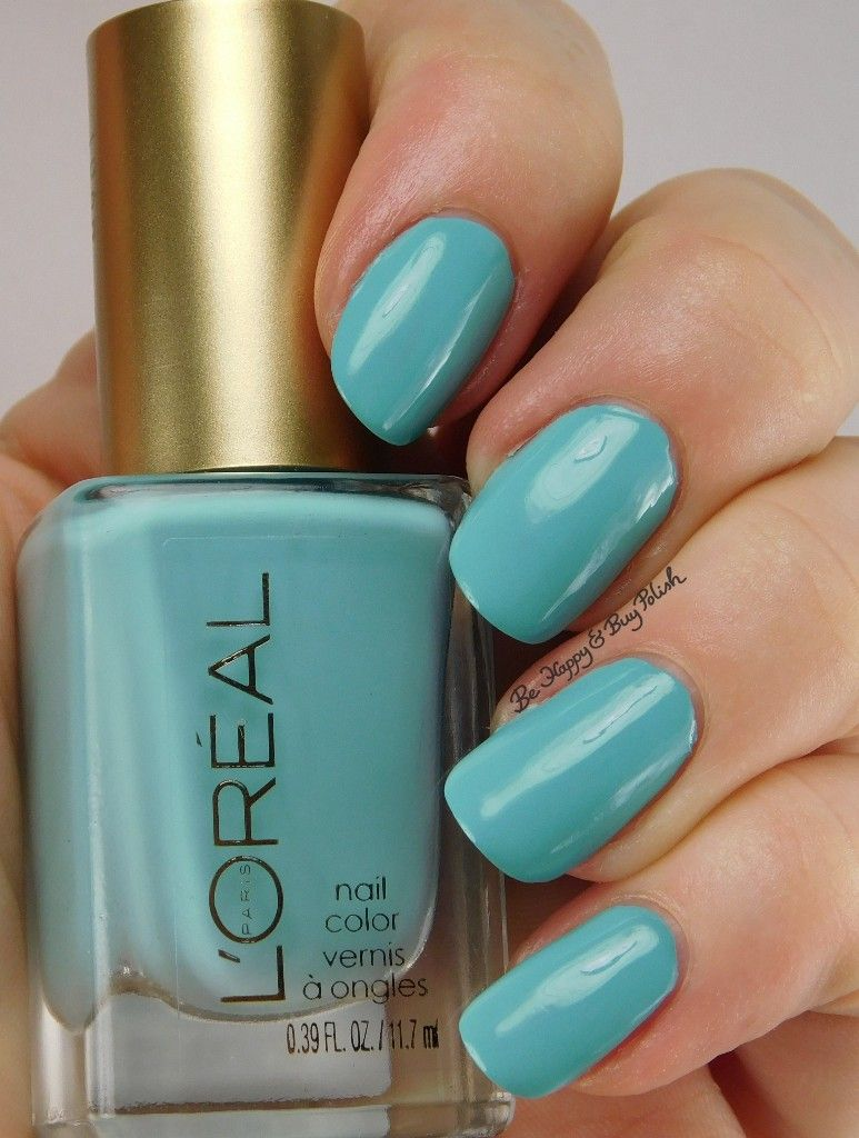 L\'Oréal - Blissful Blue | Nails | Pinterest
