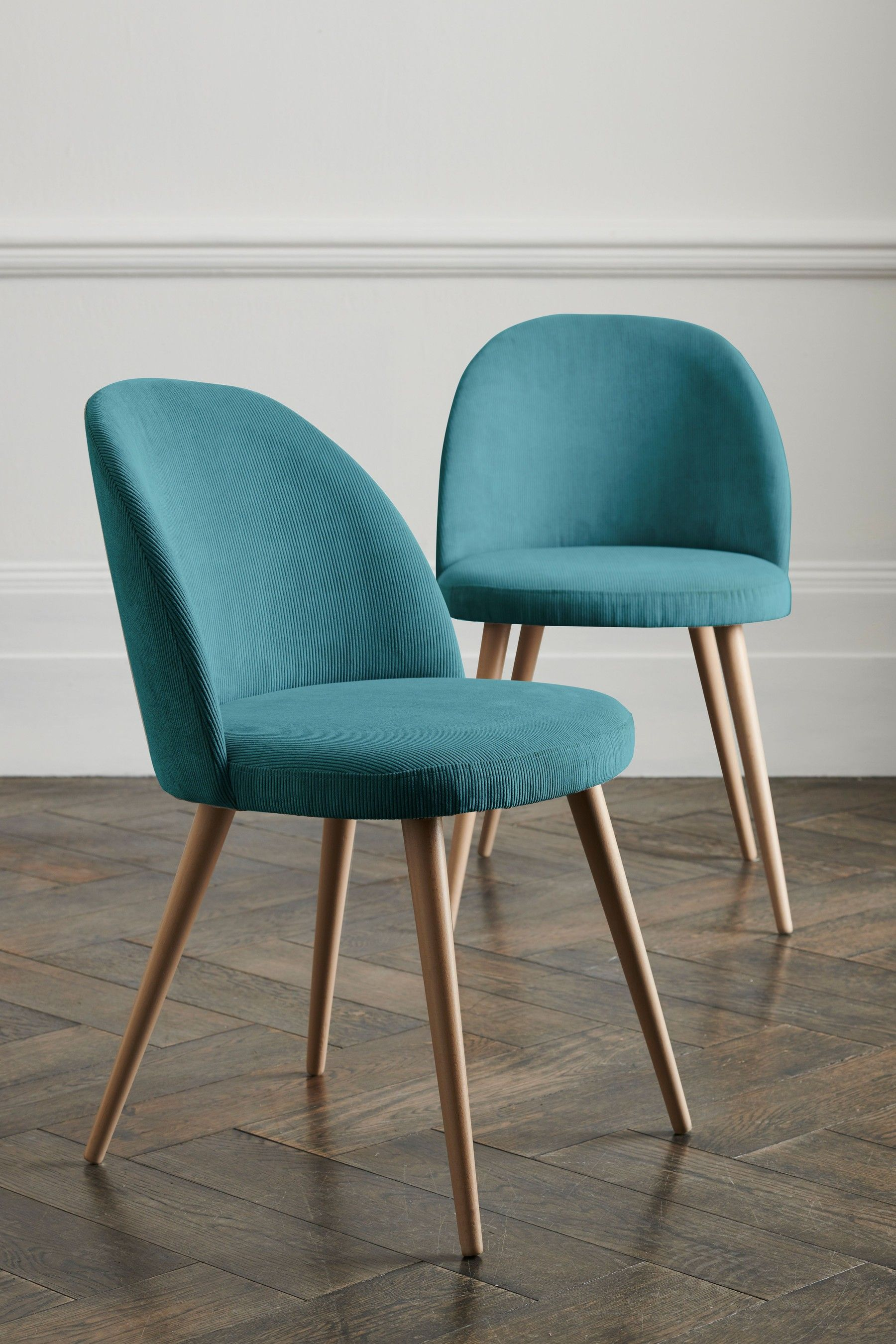 Next Set Of 9 Zola Dining Chairs - Blue  Dining chairs, Dining