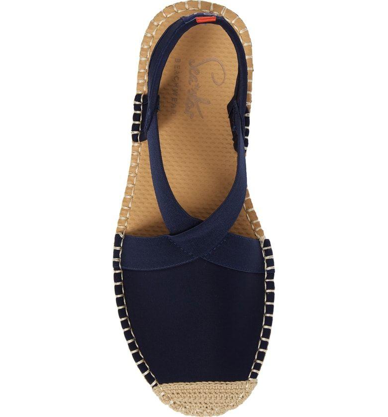935fc4a0d883d Sea Star Slingback Espadrille Water Shoe