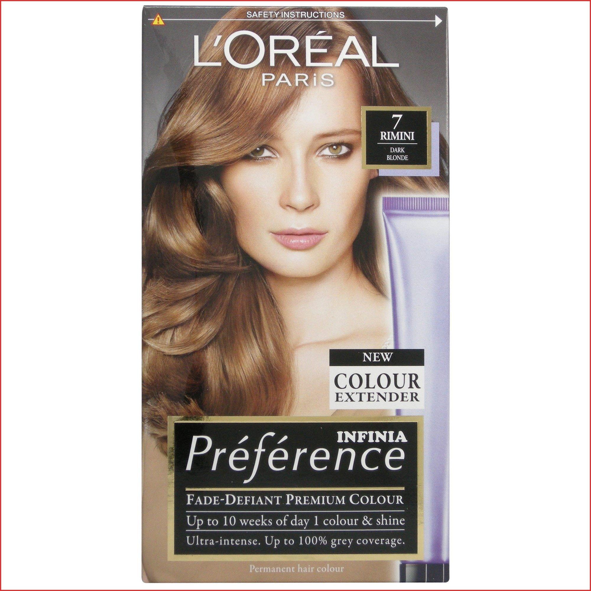 Loreal Preference Hair Color Instructions 154636 L Oreal Recital Preference 7 Rimini Dark Blo Loreal Preference Hair Color Dark Blonde Dyed Blonde Hair