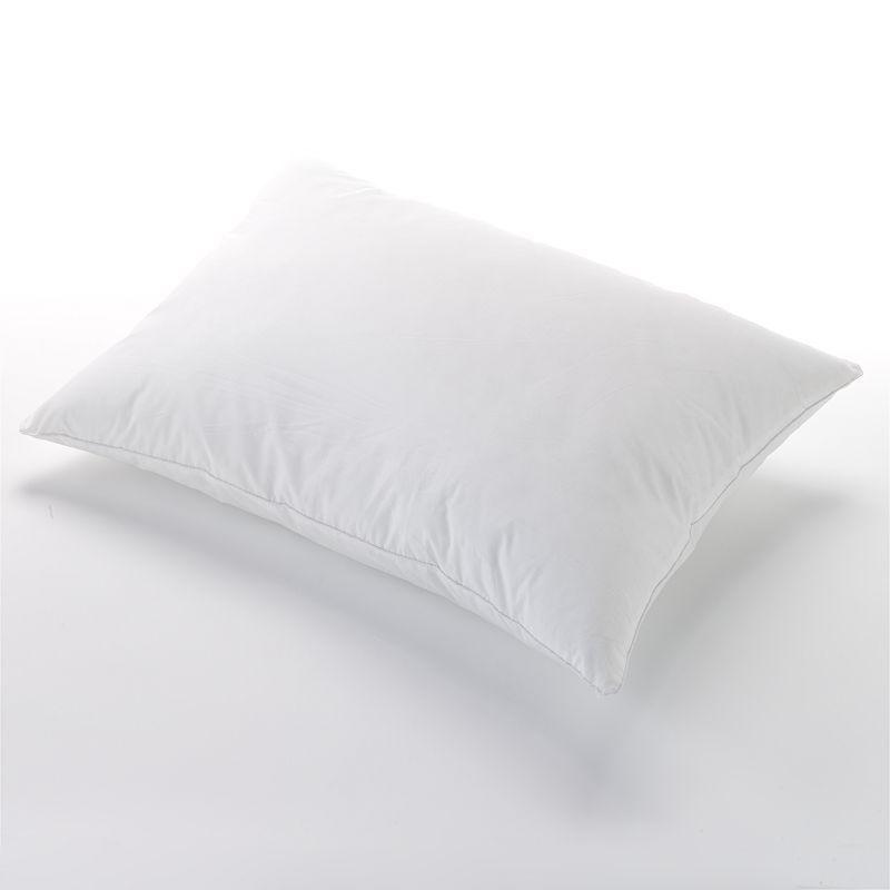 Allerease Custom Comfort Memory Fiber Pillow, White