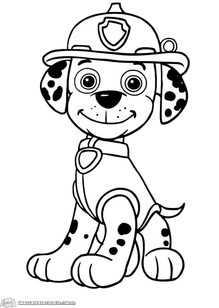 Patrulha Canina Patrulha Canina Para Colorir Desenhos Infantis