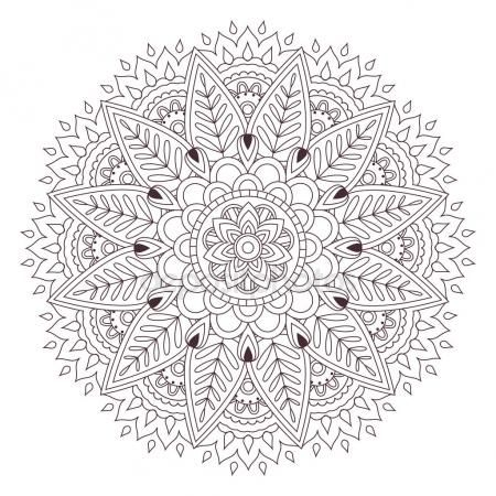 Pin by stonecoldhands on Mandela | Mandala coloring pages ...