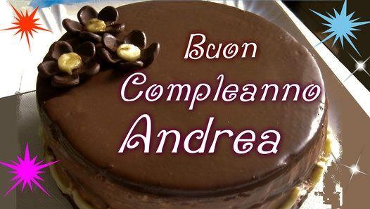 Tanti Auguri Di Buon Compleanno Andrea Video Dailymotion