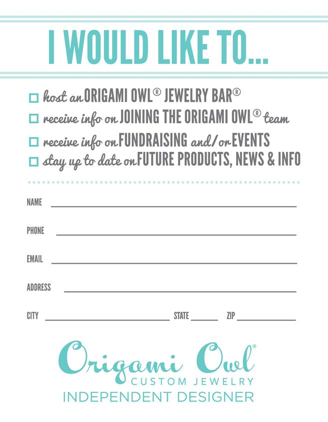 Photo of origami owl door prize games – Google Search