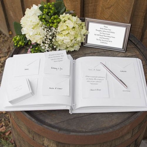 A Popular Alternative To Traditional Guest Books This Wedding Wishes Card And Envelope Book