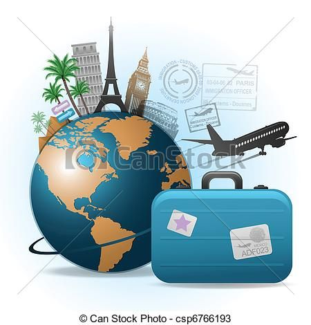 Travel Illustrations And Clip Art 598771 Royalty Free
