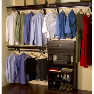 Exceptionnel John Louis Espresso Woodcrest Closet System