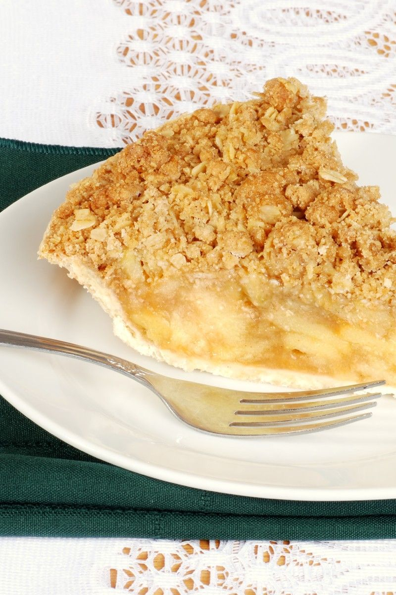 Fabuleux 25 Skinny Weight Watchers Desserts with Points | Apple crumble pie  MV95