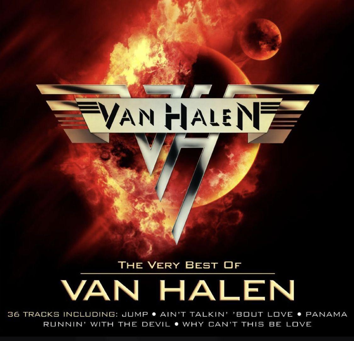 Pin By Michelle Lyons On Capas De Albuns De Rock In 2020 Van Halen Classic Rock Albums Happy Song