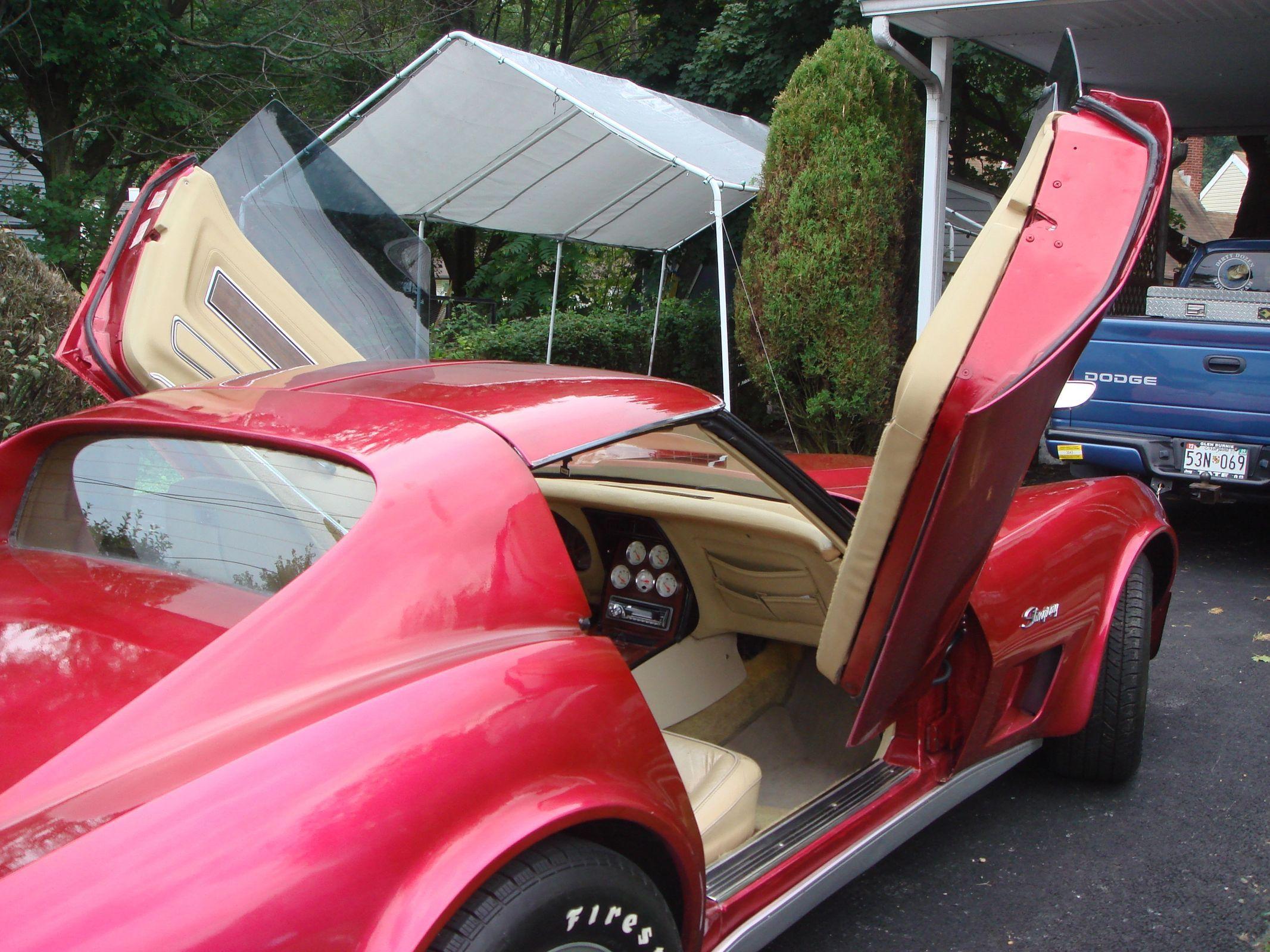 C3 Vertical Door Kit Dream Car Custom In 2021 Vertical Doors Door Kits Corvette