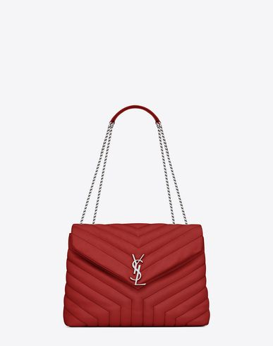 799a2dbd8e0 SAINT LAURENT Medium Monogram Saint Laurent Envelope Satchel In Lipstick Red.  #saintlaurent #bags #shoulder bags #hand bags #leather #satchel #