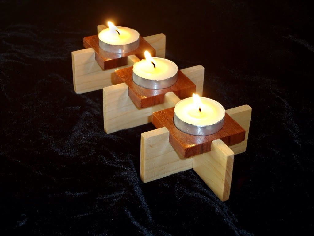 Theelicht houder minimalistisch candle holder