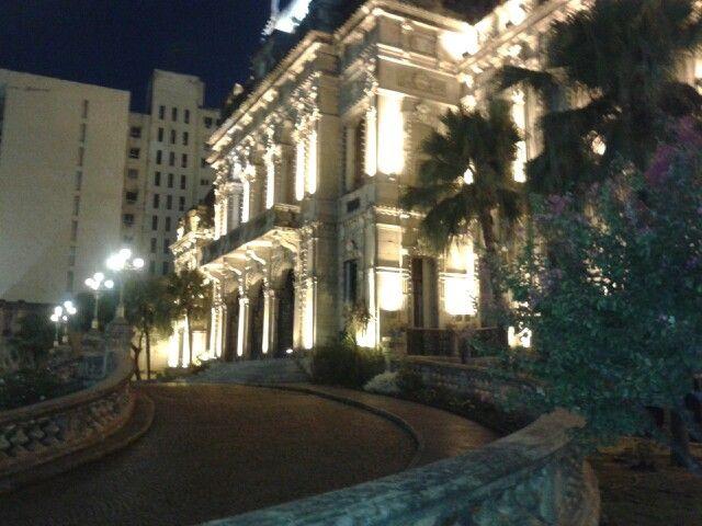 Rampa frente casa de Gobierno