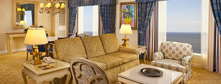 Guest Suite At Beau Rivage Resort Casino Biloxi Ms King Bed