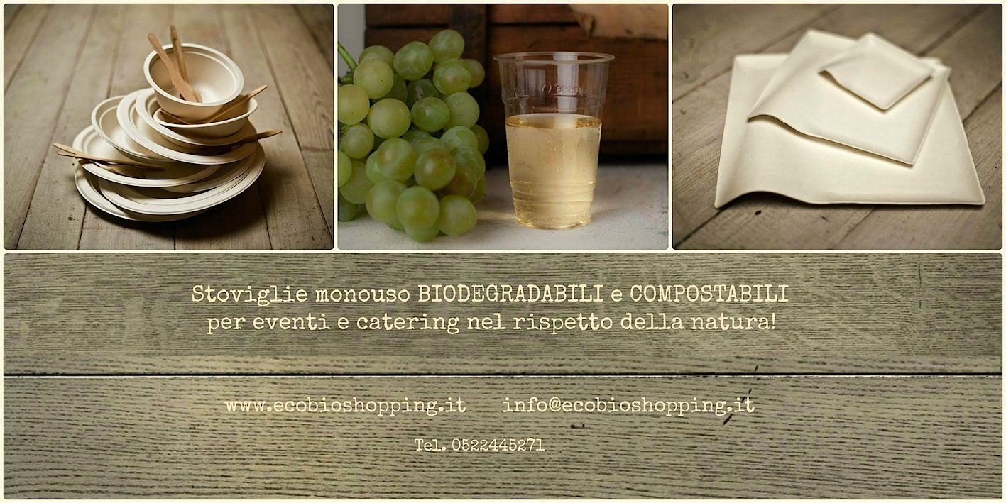 Per rendere la tua tavola elegante rispettando la natura! #biodegradabile #compostabile http://www.ecobioshopping.it/