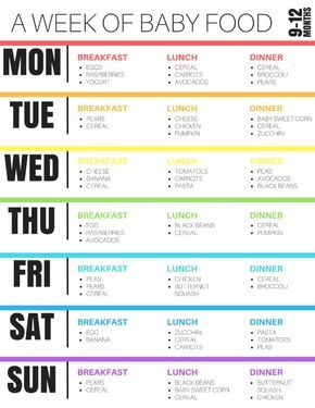 9 12 month baby feeding schedule menu planning baby feeding