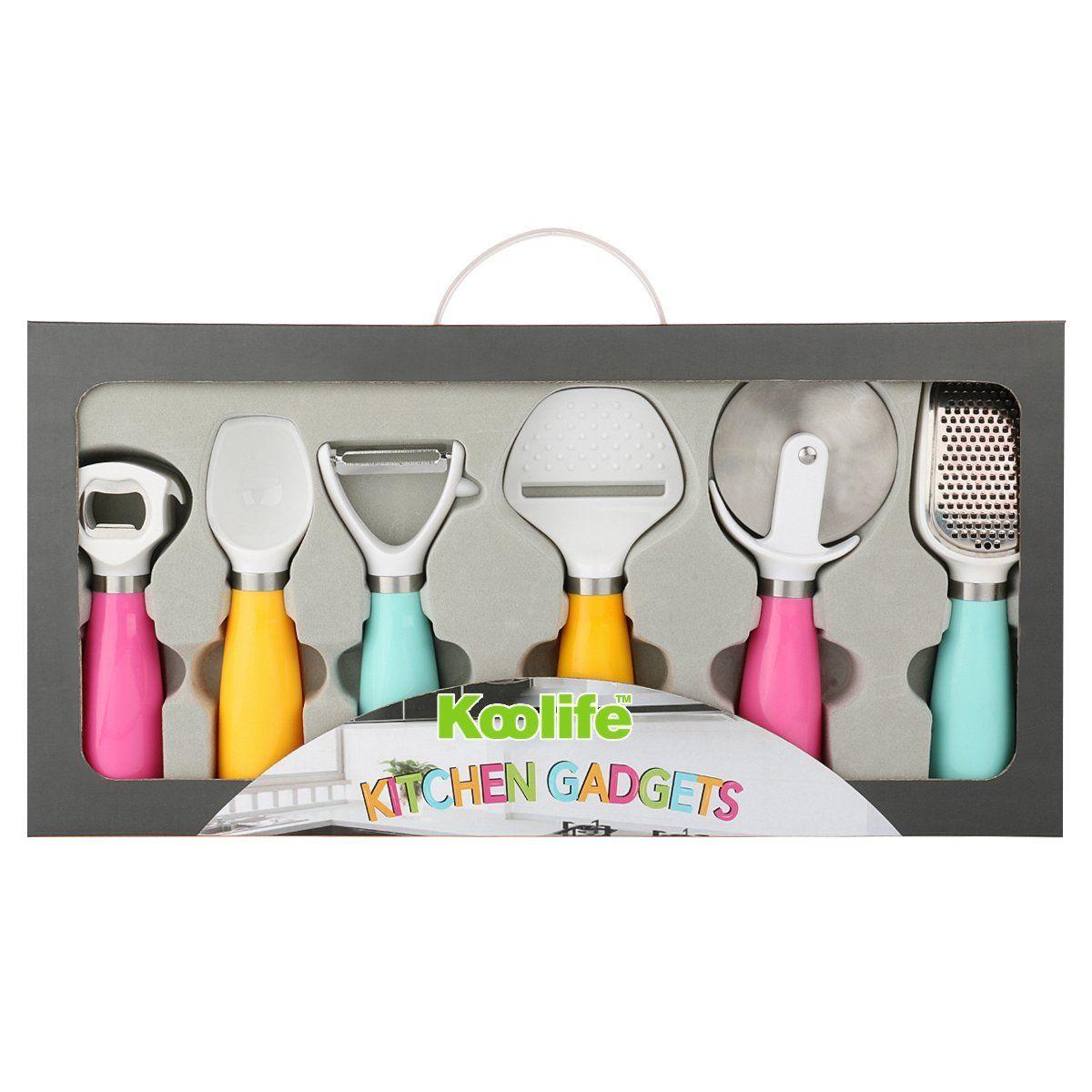 Funny grab shaped multi purpose fruits vegetable peeler bottle opener - Amazon Com Koolife 6 Pieces Kitchen Gadgets Tools Set Bottle Opener