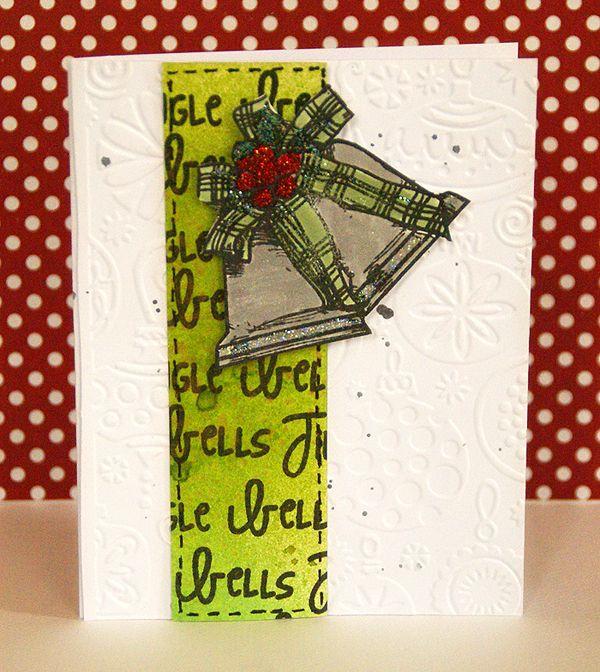 Mixed media Christmas card - Scrapbook.com