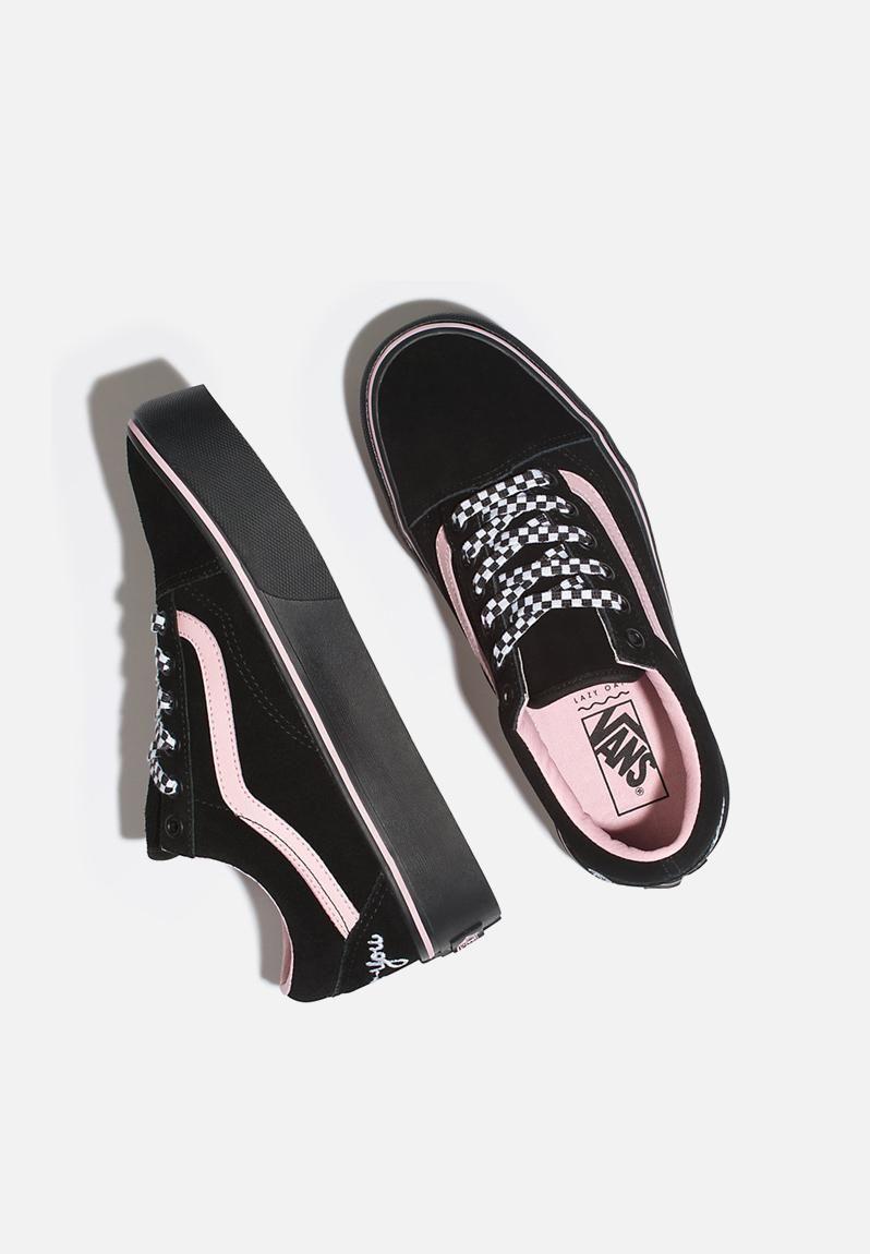 Look what I found on | Vans black sneakers