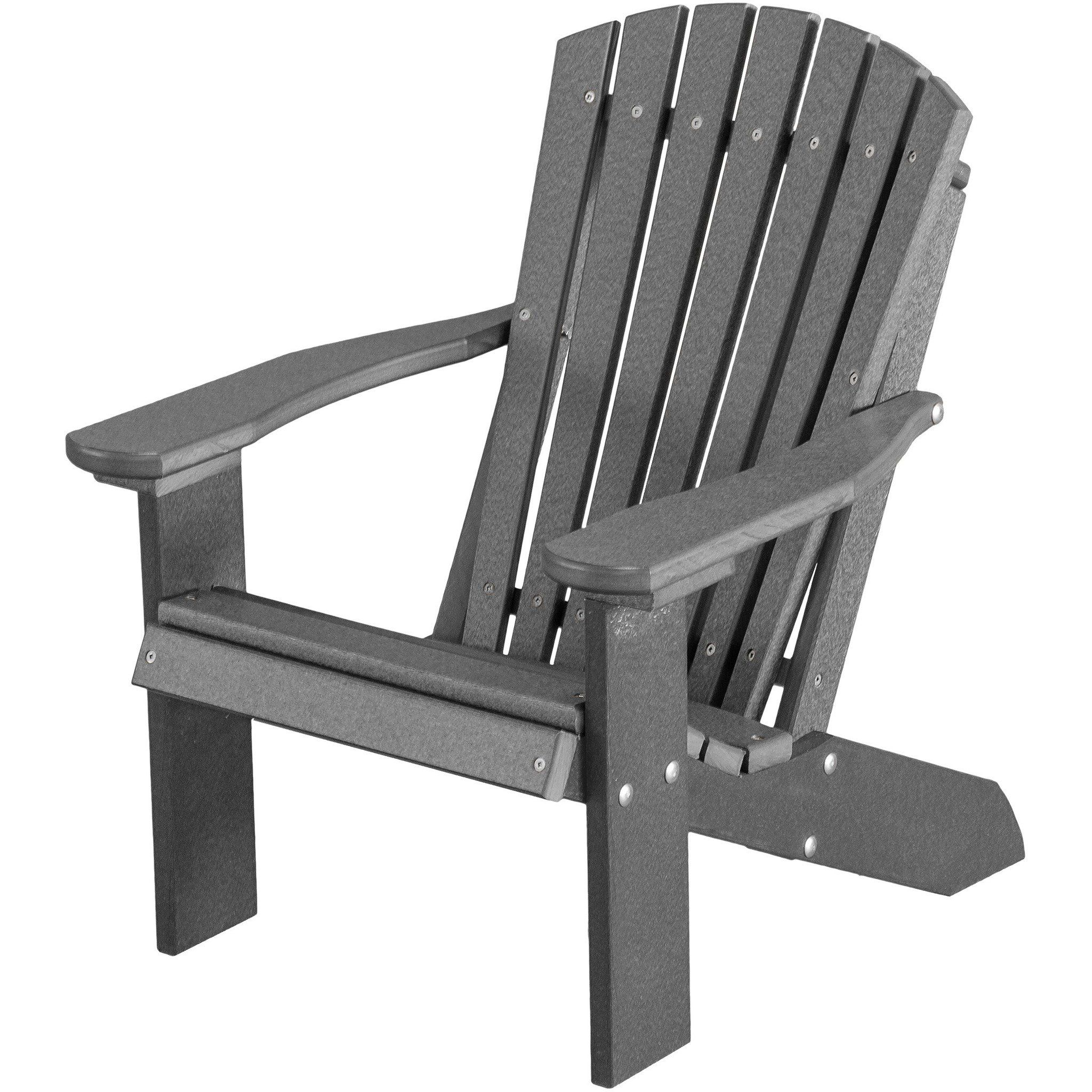 Wildridge Outdoor Recycled Plastic Children S Adirondack Chair Lead Time To Ship 7 Business Days Resin Adirondack Chairs Adirondack Chair Wood Adirondack Chairs