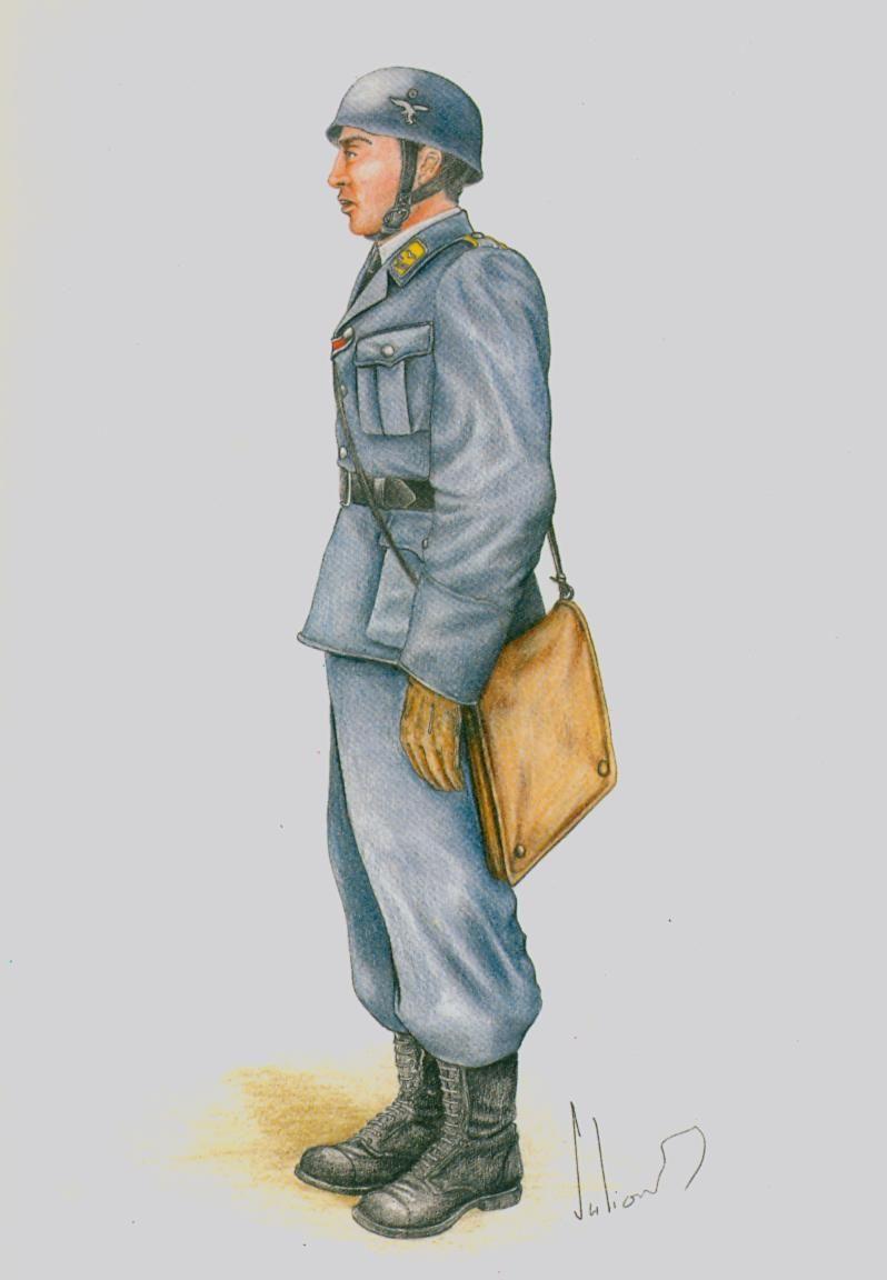 Fliegertruppe - Leutnant Norvège - 1940
