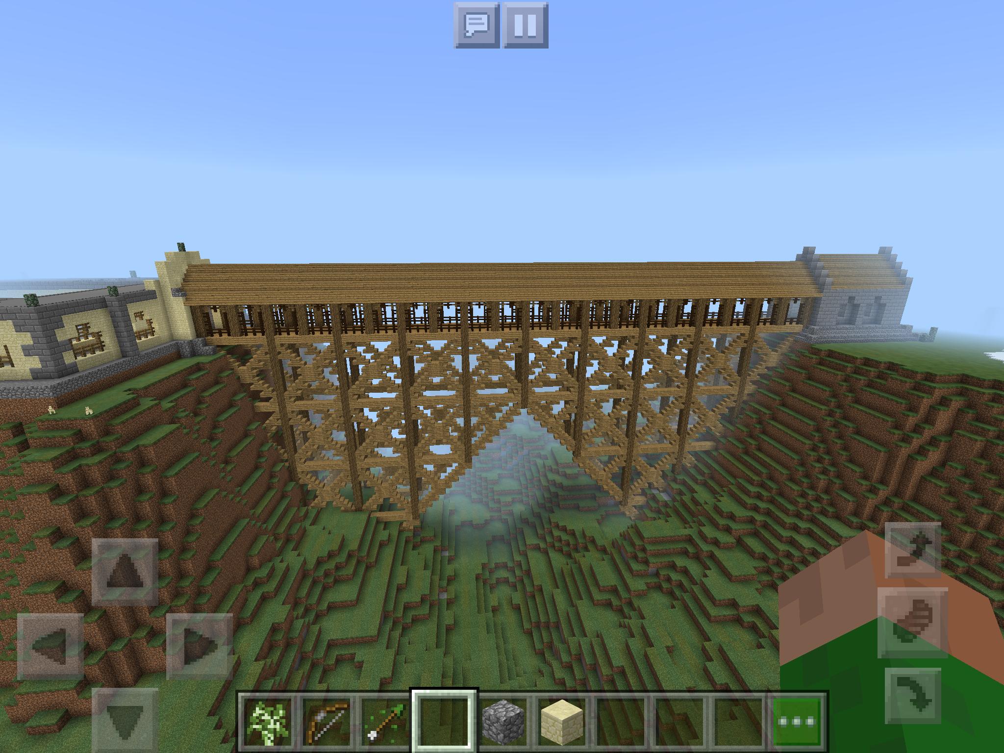Harry Potter Bridge Harry Potter Minecraft Hogwarts Minecraft Minecraft Houses